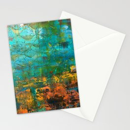 Upside down, inside out Stationery Cards
