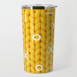 Yellow Sweater Travel Mug
