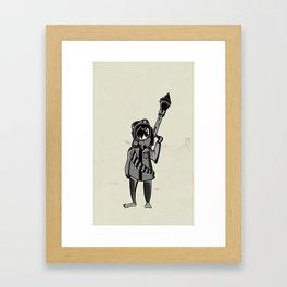 Insurgent Framed Art Print