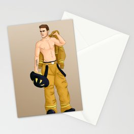 Fireman Liam Stationery Cards
