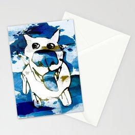 Citydog summergrunge Stationery Cards