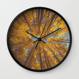 forest in autumn #society6 #decor #buyart Wall Clock