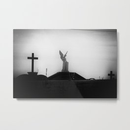 Cemetery Protector Metal Print
