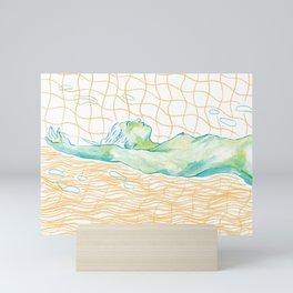 Sinking Mini Art Print