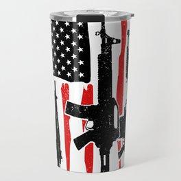 American Hero Flag Travel Mug