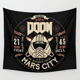Doom - Fight Hell Wall Tapestry