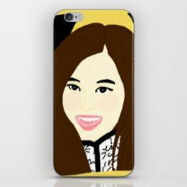 Knock Knock! Tzuyu Yellow iPhone Skin
