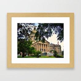 Mississippi State Capitol Framed Art Print