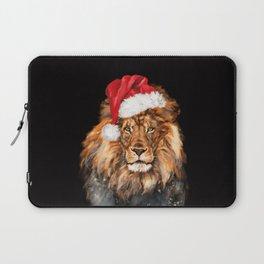 Christmas King Lion Laptop Sleeve