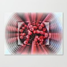 Summer Fruits to Infinity Canvas Print
