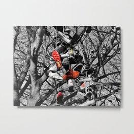 Shoe Tree Metal Print