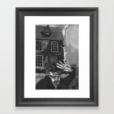 A Tale of an Empty House Framed Art Print