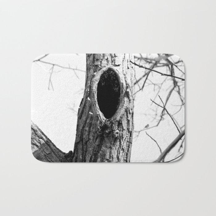 Hollow tree Bath Mat