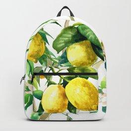 Lemon Tree. lemons kitchen art Backpack