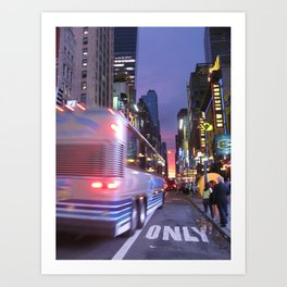 New York Sky is the Limit Art Print