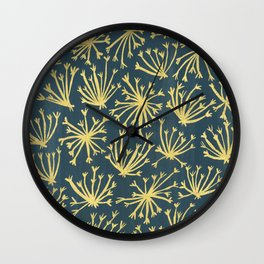 Queen Anne's Lace #4 Wall Clock