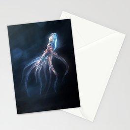 Polygon Deep Sea Octopus Stationery Cards