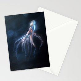 Polygon Deep Sea Octopus Stationery Cards
