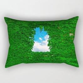 Bird's Window Rectangular Pillow