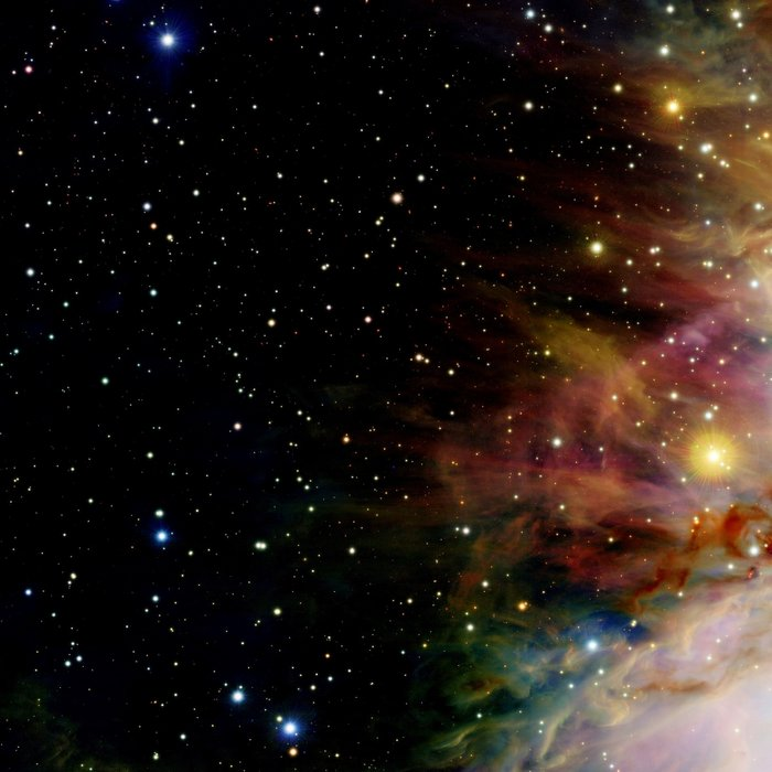 Orion NebulA Colorful Full Image Leggings