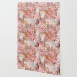 Beautiful & Dreamy Rose Gold Marble Wallpaper