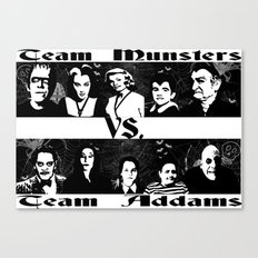 MUNSTERS/ADDAMS Canvas Print