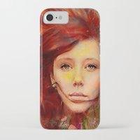 irish iPhone & iPod Cases featuring Irish fairy by Ganech joe