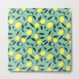 Lemon lemonade Metal Print