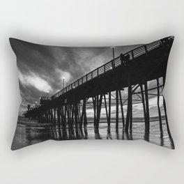Road trip - West Coast - Pier Rectangular Pillow