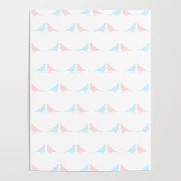 Little birds in love Poster