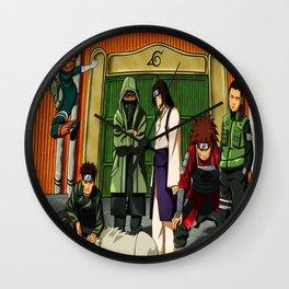 ninja konoha Wall Clock