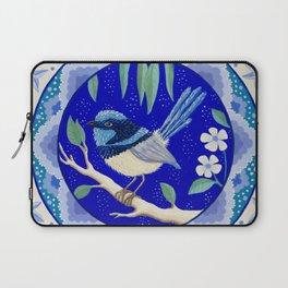 Blue Wren Beauty Laptop Sleeve