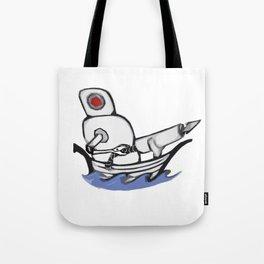 Harpoon Bot Tote Bag