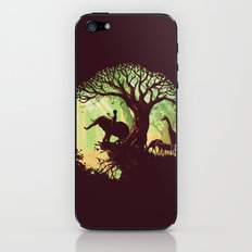 The jungle says hello iPhone & iPod Skin