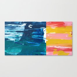 Desert Abstraction Canvas Print