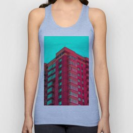 The Red Building Unisex Tank Top