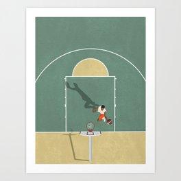 Street Basketball  Art Print