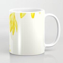 yellow botanical crocus watercolor Coffee Mug