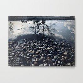 On Reflection Metal Print