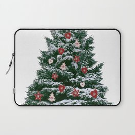 Christmas Tree by Chrissy Laptop Sleeve