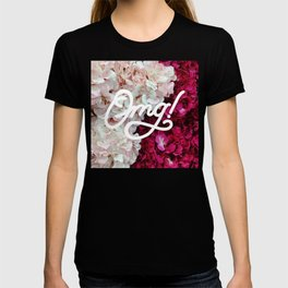 OMG! (Fleurs) T-shirt