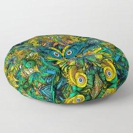 Pattern: Fish Orgy Floor Pillow