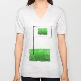 Conquer the fields! Unisex V-Neck