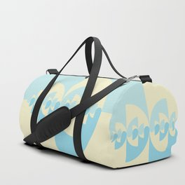 geometric 46 ying-yang variation 7 Duffle Bag