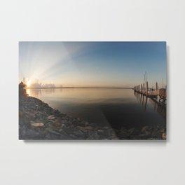 Sunrise Over the St. John's River Metal Print