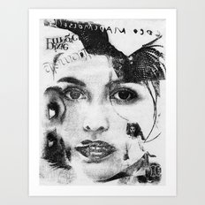 Cover Girl Art Print