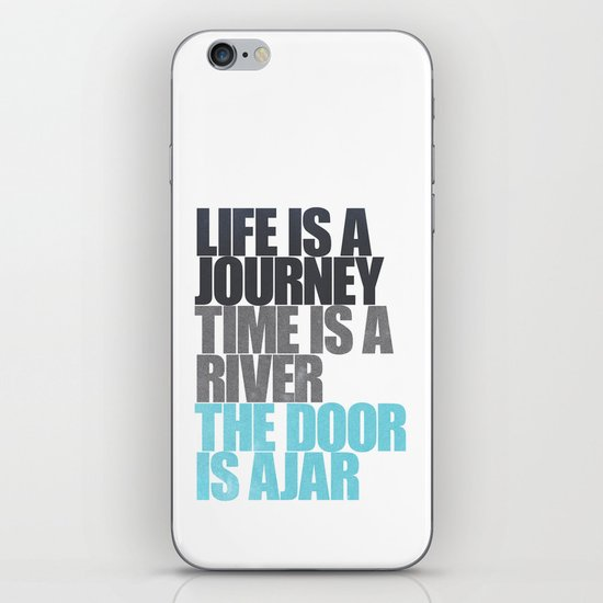 The Door is Ajar iPhone & iPod Skin