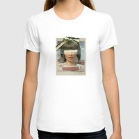 pool T-shirts featuring Tears In The Typing Pool | Collage by Julien Ulvoas