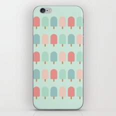 POPSICLES - BLUE iPhone & iPod Skin