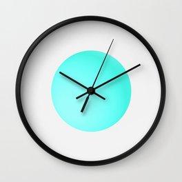 Blue Ball Wall Clock
